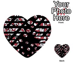 Red freedam Multi-purpose Cards (Heart)