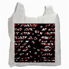Red freedam Recycle Bag (One Side)