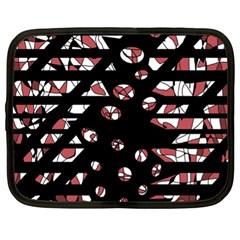 Red freedam Netbook Case (XL)