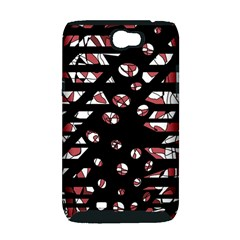 Red freedam Samsung Galaxy Note 2 Hardshell Case (PC+Silicone)