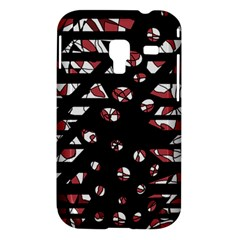 Red freedam Samsung Galaxy Ace Plus S7500 Hardshell Case