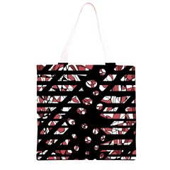 Red freedam Grocery Light Tote Bag