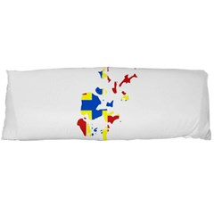 Flag Map of Orkney Islands  Body Pillow Case Dakimakura (Two Sides)