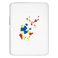 Flag Map of Orkney Islands  Samsung Galaxy Tab 3 (10.1 ) P5200 Hardshell Case