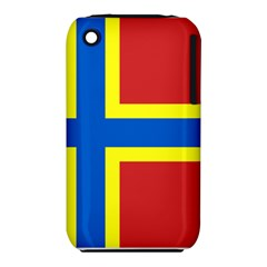 Flag of Orkney Apple iPhone 3G/3GS Hardshell Case (PC+Silicone)