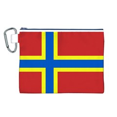 Flag of Orkney Canvas Cosmetic Bag (L)