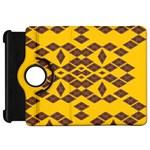 Jggjgj Kindle Fire HD Flip 360 Case Front
