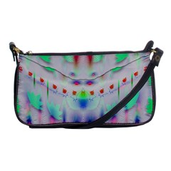 Rainbows In The Moonshine Shoulder Clutch Bags