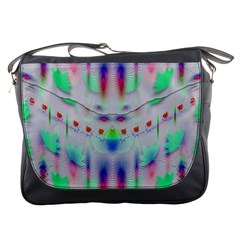 Rainbows In The Moonshine Messenger Bags