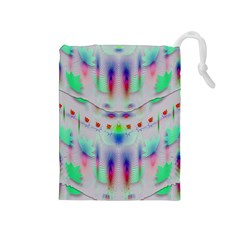 Rainbows In The Moonshine Drawstring Pouches (medium)