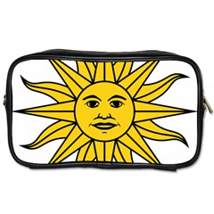 Uruguay Sun of May Toiletries Bags 2-Side