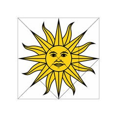 Uruguay Sun of May Acrylic Tangram Puzzle (4  x 4 )