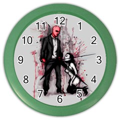 Say Please Color Wall Clocks