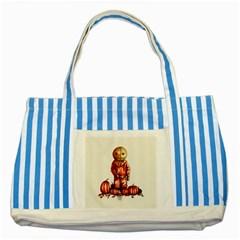 Trick R Treat Sam Striped Blue Tote Bag
