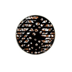 Brown freedom  Hat Clip Ball Marker