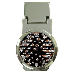 Brown freedom  Money Clip Watches