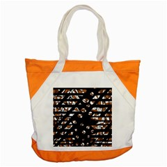 Brown Freedom  Accent Tote Bag