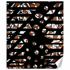Brown freedom  Canvas 8  x 10