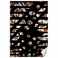 Brown freedom  Canvas 20  x 30