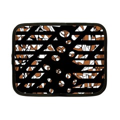 Brown freedom  Netbook Case (Small)