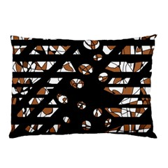 Brown freedom  Pillow Case
