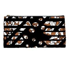 Brown freedom  Pencil Cases