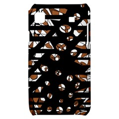 Brown freedom  Samsung Galaxy S i9000 Hardshell Case