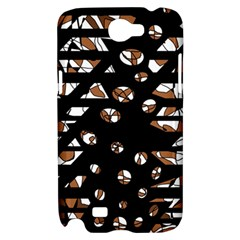 Brown freedom  Samsung Galaxy Note 2 Hardshell Case