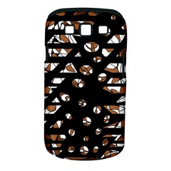 Brown freedom  Samsung Galaxy S III Classic Hardshell Case (PC+Silicone)