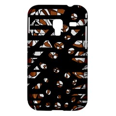 Brown freedom  Samsung Galaxy Ace Plus S7500 Hardshell Case