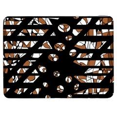 Brown freedom  Samsung Galaxy Tab 7  P1000 Flip Case