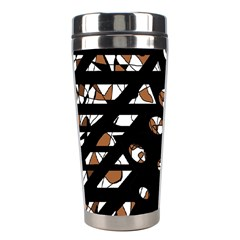 Brown freedom  Stainless Steel Travel Tumblers