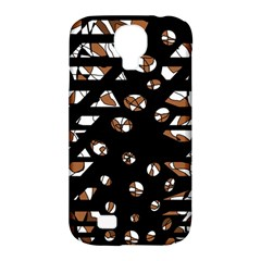 Brown freedom  Samsung Galaxy S4 Classic Hardshell Case (PC+Silicone)