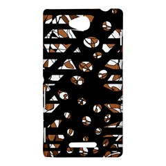 Brown freedom  Sony Xperia C (S39H)