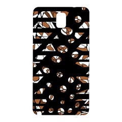 Brown freedom  Samsung Galaxy Note 3 N9005 Hardshell Back Case