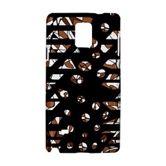 Brown freedom  Samsung Galaxy Note 4 Hardshell Case
