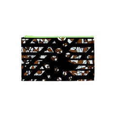 Brown freedom  Cosmetic Bag (XS)