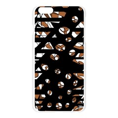 Brown freedom  Apple Seamless iPhone 6 Plus/6S Plus Case (Transparent)