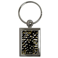Green freedom Key Chains (Rectangle)