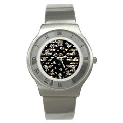Green freedom Stainless Steel Watch