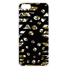 Green freedom Apple iPhone 5 Seamless Case (White)