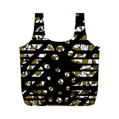 Green freedom Full Print Recycle Bags (M)