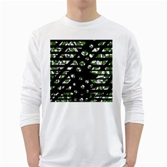 Freedom White Long Sleeve T-Shirts