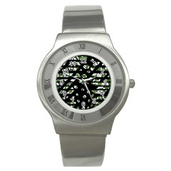 Freedom Stainless Steel Watch