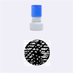 Freedom Rubber Round Stamps (Small)