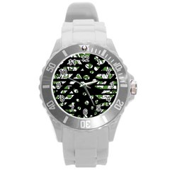 Freedom Round Plastic Sport Watch (L)