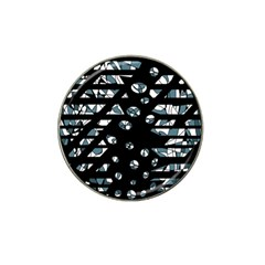 Blue freedom Hat Clip Ball Marker (10 pack)