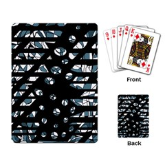 Blue freedom Playing Card