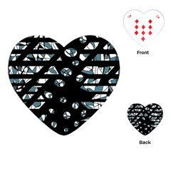 Blue freedom Playing Cards (Heart)