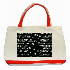 Blue freedom Classic Tote Bag (Red)